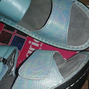 Alegria Baby Blue Sandals